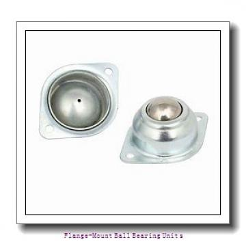 1.2500 in x 3.6250 in x 118 mm  SKF F4B 104-TF Flange-Mount Ball Bearing Units