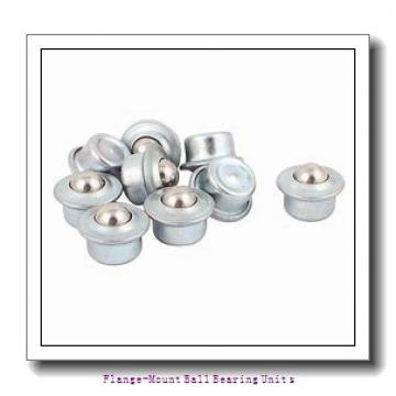 1.7500 in x 5.8438 in x 111 mm  SKF F2B 112-FM Flange-Mount Ball Bearing Units