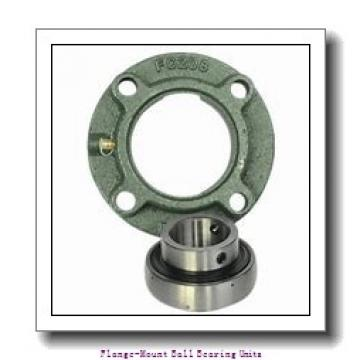 1.4375 in x 3.6250 in x 118 mm  SKF F4B 107-FM Flange-Mount Ball Bearing Units